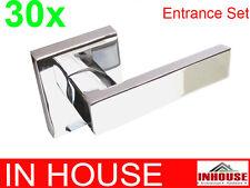 Builders!wholesalers!resell!bulk 30xDoor dummy lever handles-Chrome finish(6502)