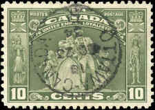 1934 Used Canada VF Scott #209 10c Loyalists Issue Stamp