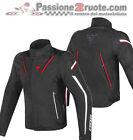 Jacket moto Dainese Stream Line d-dry black red white sport touring