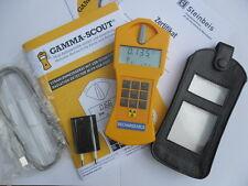 Gamma-Scout Geigerzähler Rechargeable Strahlenmessgerät + Gürteltasche +Software
