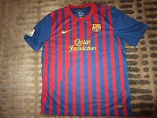 Barcelona Spain Barca Nike Soccer Football Jersey XL