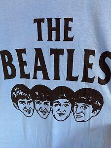 Vintage Printed The Beatles Tshirt