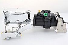 67-81 Chevy Camaro /Firebird/Nova Hydroboost Chrome Master Cylinder w/Prop Valve