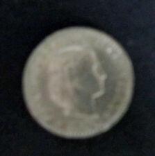 """Münze 20 Rappen Schweizer Franken 1955 """"B"""" aus Umlauf gültiges Zahlungsmittel"""