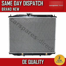 FIT FOR A NISSAN TERRANO II (R20) AUTO/MANUAL RADIATOR 2002>2007 2 YEAR WARRANTY