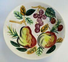 Fruit Bowl Hand Painted Vintage Decorative Centerpiece