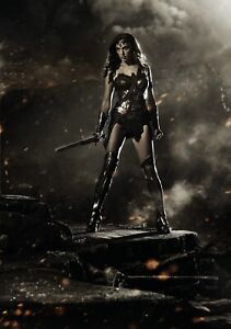 WONDER WOMAN Movie PHOTO Print POSTER Film Art Gal Gadot Justice League 001