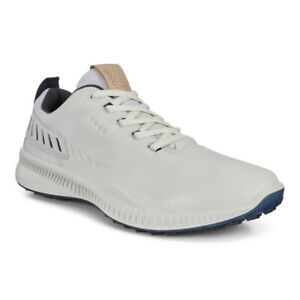 NEW Mens ECCO S-Hybrid Golf Shoes White - Choose Your Size