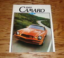 Original 1980 Chevrolet Camaro Sales Brochure 80 Chevy Z28 Rally Sport