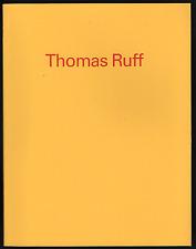 Thomas RUFF. Frankfurt am Main, Museum für Moderne Kunst, 1992. E.O.