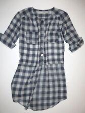 New Lucy Love Womens Carter Tunic Dress Shirt Top Small