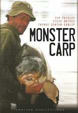 PAISLEY TIM COARSE FISHING BOOK MONSTER CARP EUROPEAN FISHERIES hardback NEW