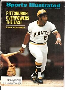 Willie Stargell August 2 1971 Sports Illustrated Pittsburgh Pirates