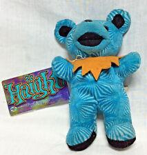 "Grateful Dead Bean Bear Collection Blue Bear Beanie Baby Electric Blue 1998 7.5"""