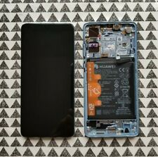Genuine PEARL WHITE Huawei P30 ELE-L09 LCD DISPLAY TOUCH SCREEN FRAME AMOLED