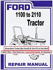 Ford Tractors Shop Service Repair Manual 1100 1110 1200 1210 1300 1310 1500