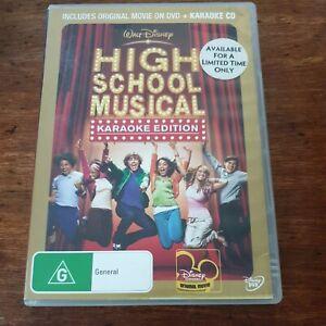 High School Musical Disney DVD R4 Like New! FREE POST