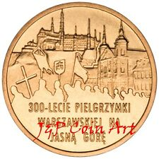 2011 Coin of Poland Polish 2zl 300th Anniversary of Warsaw Pilgrimage