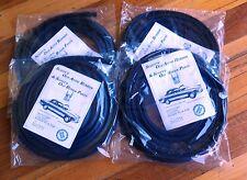 ROVER P5 3 litre P5B 3.5 Saloon Door Seals Rubbers Set NEW 1958 - 1973 Set of 4