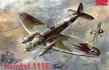 "Heinkel HE 111 e (""LEGIONE CONDOR"" 1938 & LUFTWAFFE MKGS 1939/42) #27 1/72 Roden"