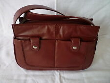 Wilson's Leather Pelle Studio leather organizer - burgundy - NEW!!