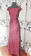 A1535 SIRI 9723 SZ 10 DDP RED 2 PC SKIRT TOP  FORMAL GOWN DRESS