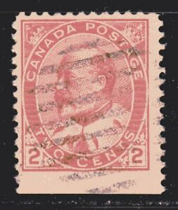 1903-1908 Canada SC# 90bs-King Edward VII-with straight edge-Lot CU239-Used