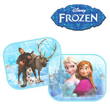 2 x Genuine Disney Frozen Princess Sun Shades for Car Window Blinds for Kids