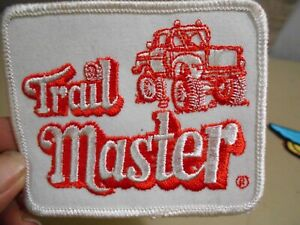 TRAIL MASTER Embroidery Iron On Patch