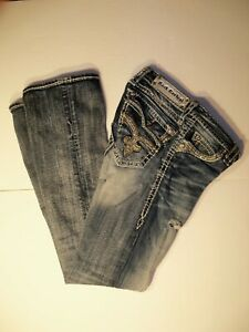 Rock Revival Destressed Jeans Womens Size 27/30