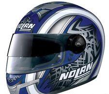 Nolan N-84 Tiger VPS Full Face Helmet Blue / Silver XS 53-54 cm - Made in Italy