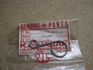 KAWASAKI NOS CABLE CLAMP H2 H2A     92037-071
