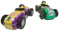 New #9 Purple and Yellow Motorized Hot Rod Monkey Bender Hog Wild Toys race car