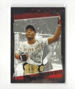 2010 Topps UFC Silver #106 Anderson Silva /188