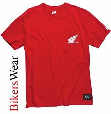 Honda One Industries Electric Red  casual T-shirt Mens  - Official Honda t shirt
