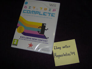 NINTENDO WII ///Bit Trip Complete\ PAL UK BRAND NEW SEALED - RISING STAR GAMES