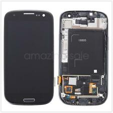 For Samsung Galaxy S3 I9305 Full LCD Touch Screen Glass Digitizer & Frame Black