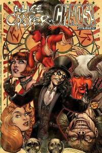 Alice Cooper VS Chaos TPB Softcover Graphic Novel