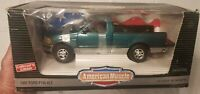 Ertl American Muscle 1997 Green Ford F-150 Pickup Truck 1:18 Scale Diecast