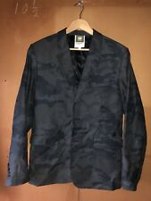 Men's G-Star Raw Army Military Camo Jeans Jacket Blazer Size 50 M/L