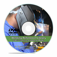 Welding Manuals Stick Mig Tig Oxy Acetylene Plasma Cutting Books in PDF CD V25
