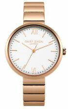 Daisy Dixon Victoria Rose Gold Bracelet Watch With White Dial