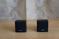 2 x Bose Acoustimass Speaker singlecubes Series III