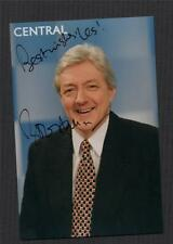 SIGNED - Bob Hall.  Sports presenter CENTRAL TV Photograph  +  zd.10