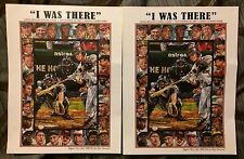 Lot Of Two Craig Biggio I Was There Collector Artwork From The Houston Astros