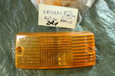 M59) VESPA PX 80 125 150 200 Verre de voyant orange 185977 nouveaux NOS