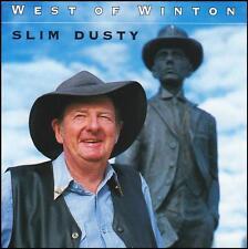 SLIM DUSTY - WEST OF WINTON CD ~ AUSTRALIAN COUNTRY *NEW*