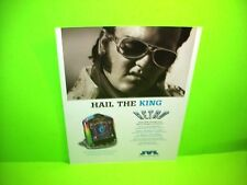 JVL RETRO Original Countertop Video Arcade Game Sales Flyer Bar Top Model Elvis