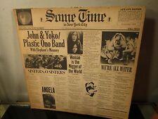 John Lennon Plastic Ono Band Some Time in New York City 2x LP Album ~