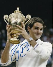 Roger Federer Signed Autograph 8X10 Photo